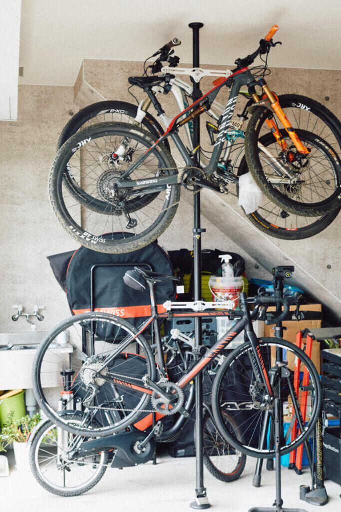 池田清子さん自転車