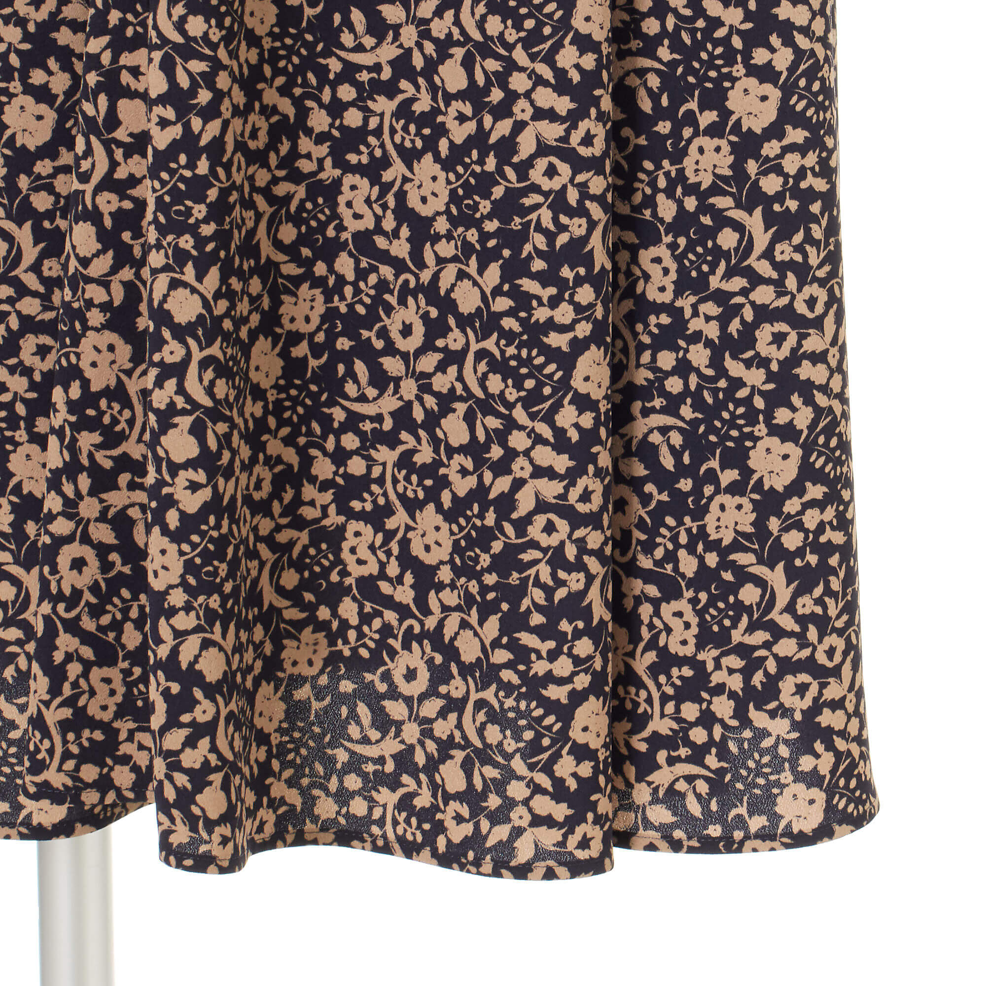 12closet 小花柄フレアスカート