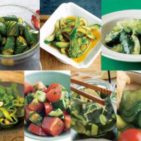 【きゅうりで人気の副菜レシピ7選】夏ごはんのおともはきゅうりが一番!栗原はるみさん、コウケンテツさん…