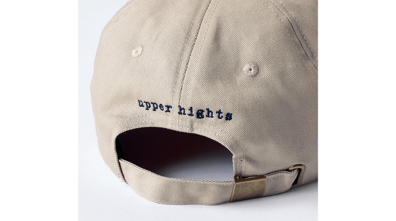 アッパーハイツ THE BASEBALL CAP