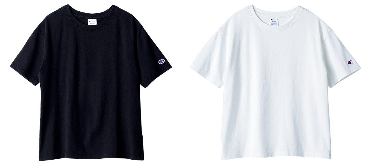Champion クルーネックTシャツ