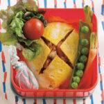 「薄焼き卵のオムライス」レシピ/ワタナベマキさん