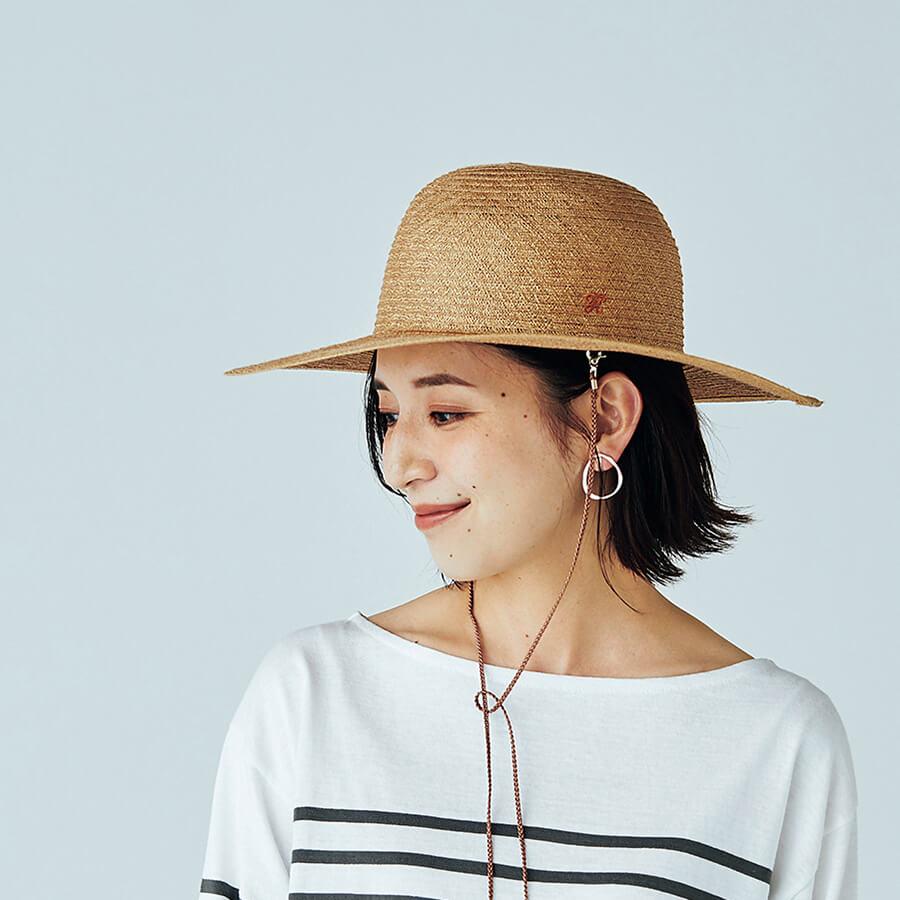 LEEキャラクター渡辺麻里子さん 帽⼦¥22000/キジマ タカユキ