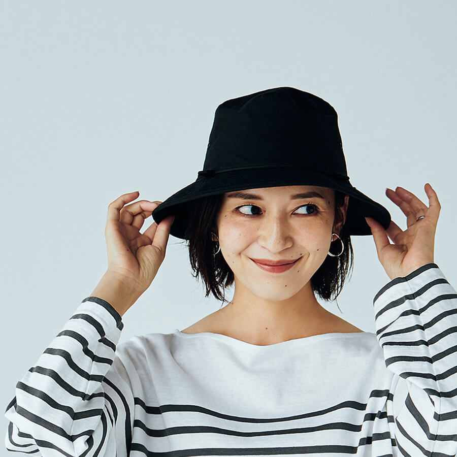 LEEキャラクター渡辺麻里子さん 帽⼦¥8580/カシラ プレスルーム(カシラ)