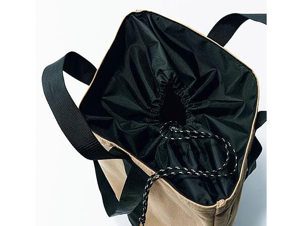 バッグ(42.5×37.5×15)¥18700/テンベア