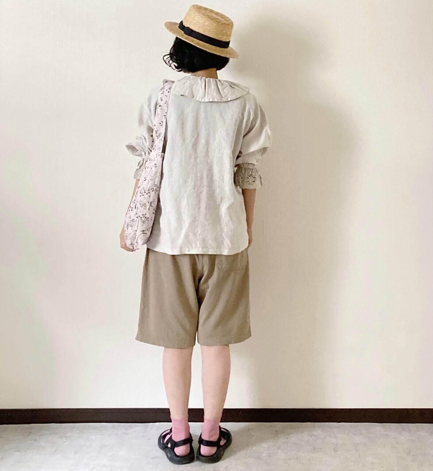 ユニクロで!「大人のハーフパンツコーデ」デビュー!【夏コーデ4パターン】