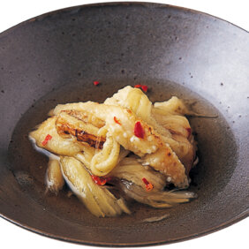「焼きなすの煮びたし」レシピ/行正り香さん
