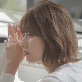 「大人のふんわりボブヘア」は「サイド前髪」で小顔度アップ!【2021・夏〜秋の髪型】