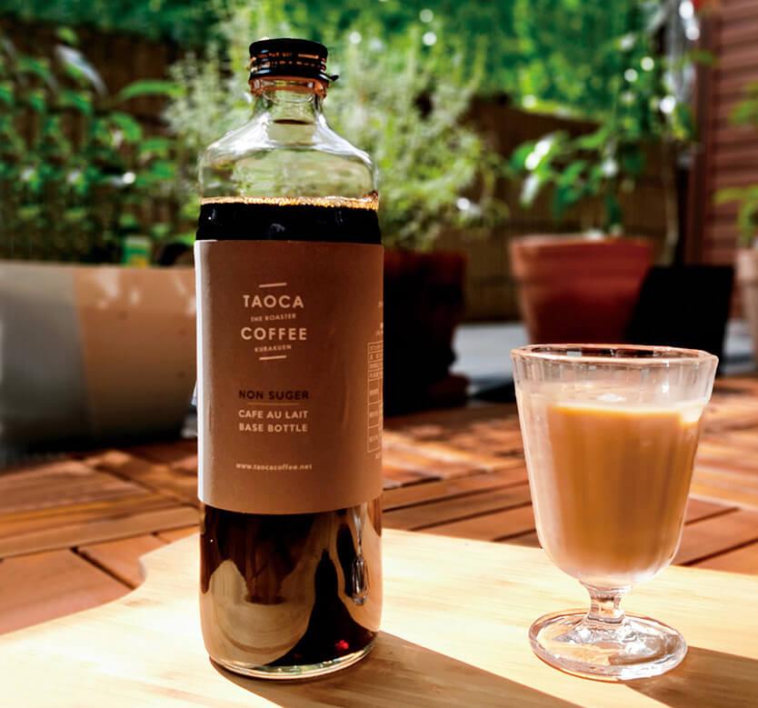 TAOCA COFFEE 鷲林寺ロースタリーのカフェオレベース無糖 ¥1850