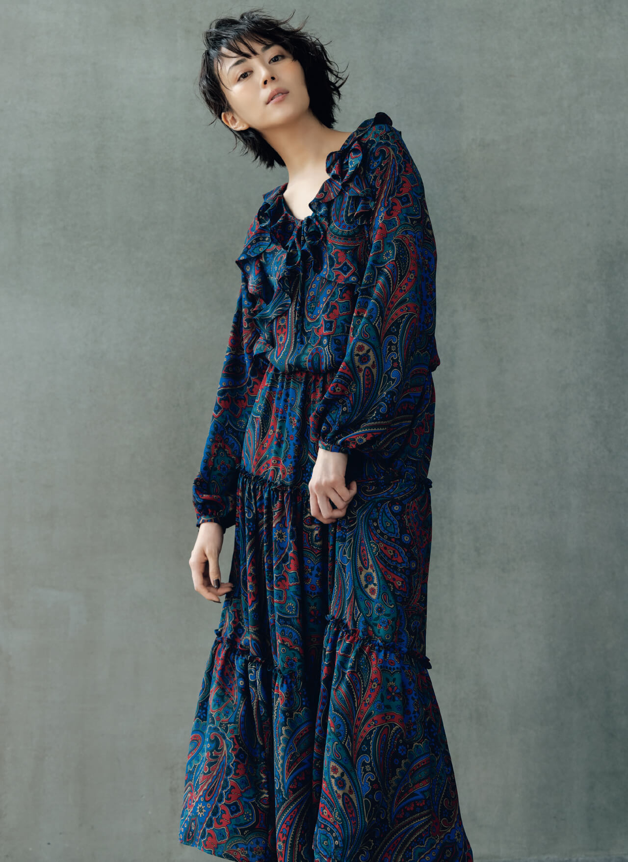 05 Paisley Dress