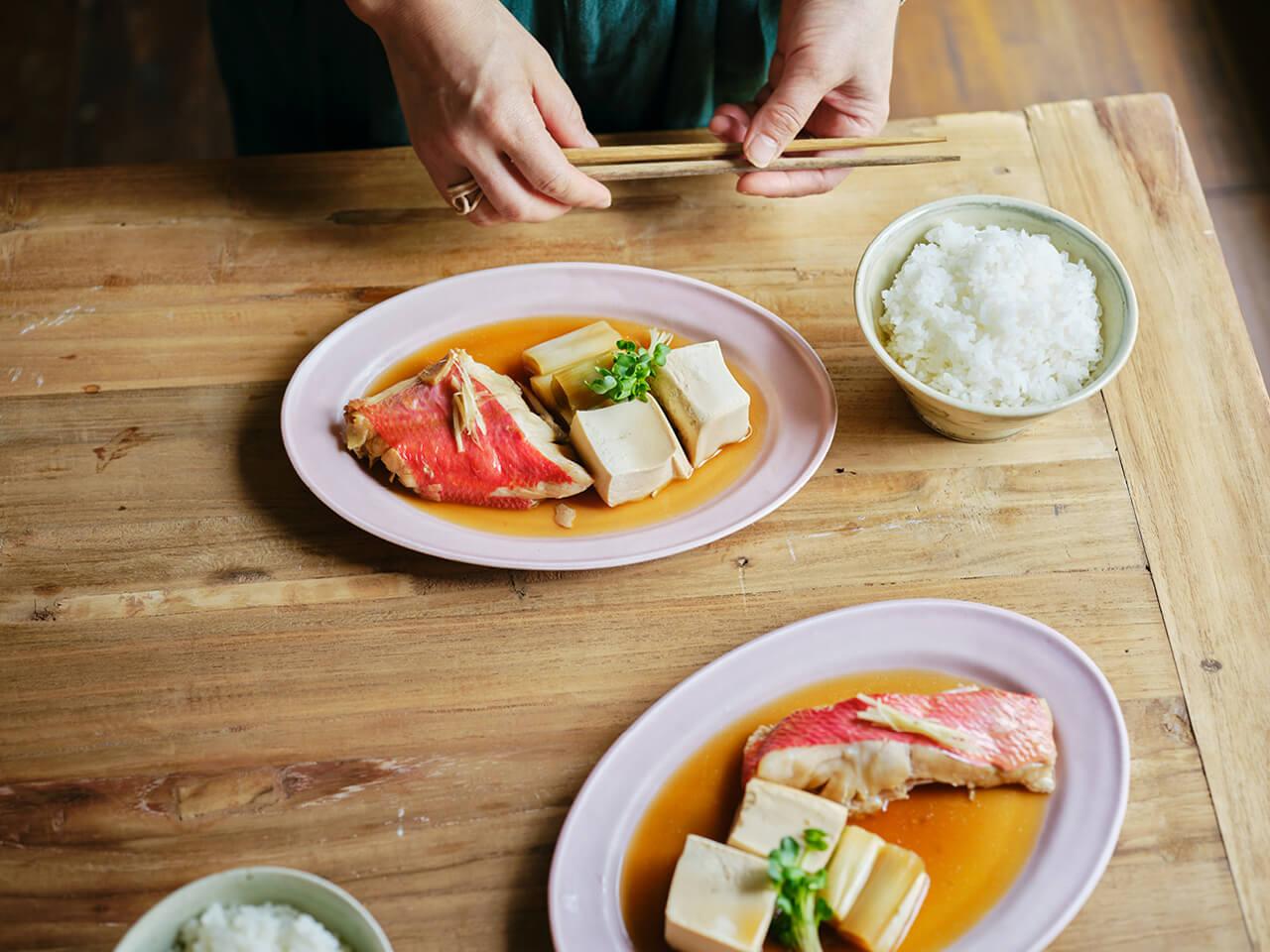 「キンメダイの煮つけ」レシピ/本多理恵子さん
