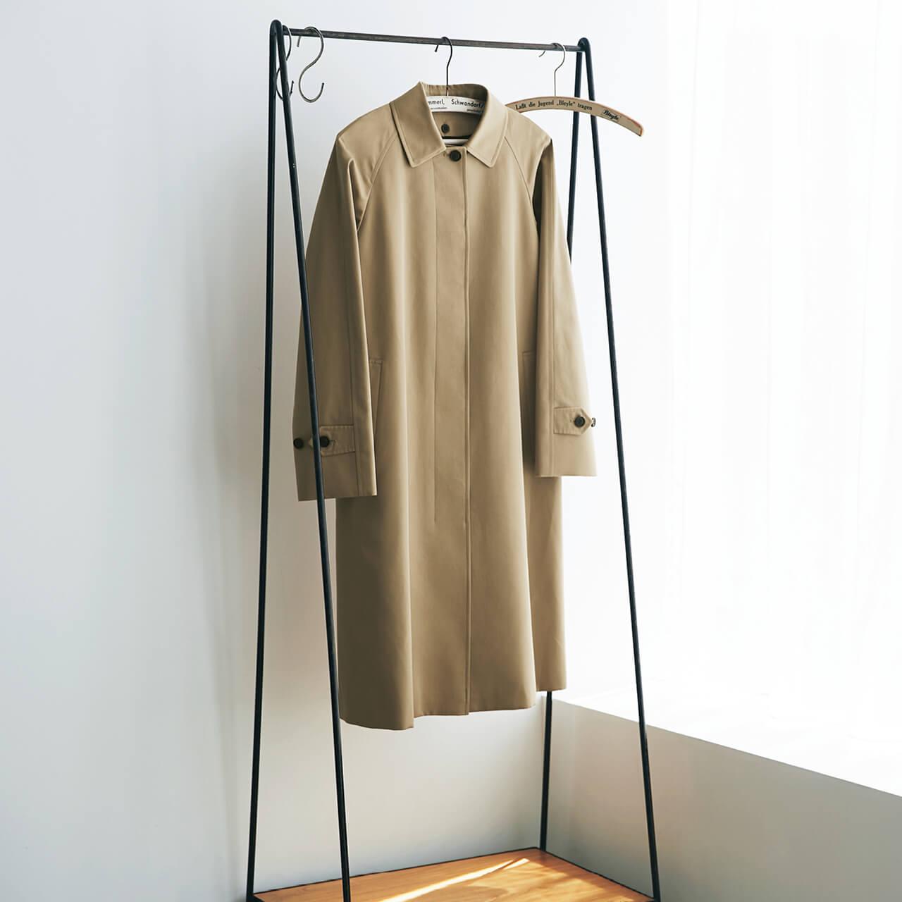 SANYOCOAT サンヨーコート 【LEE別注】Aラインステンカラーコート