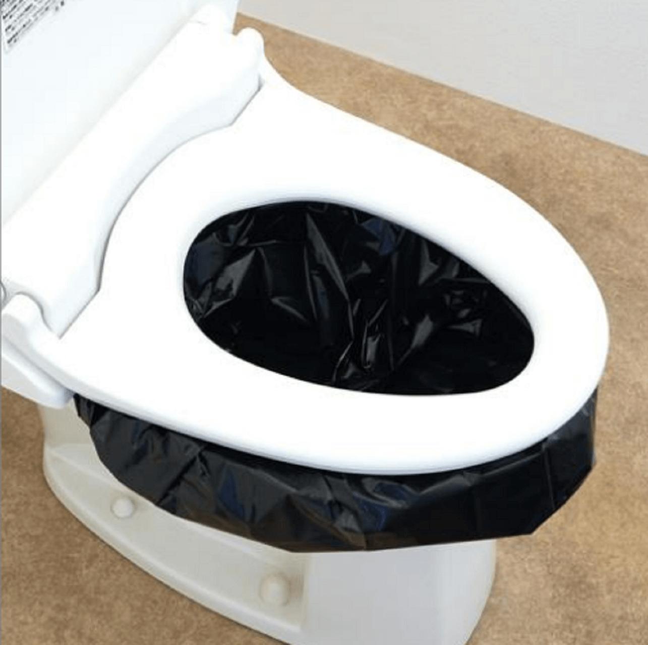 ダイソー簡易トイレを設置