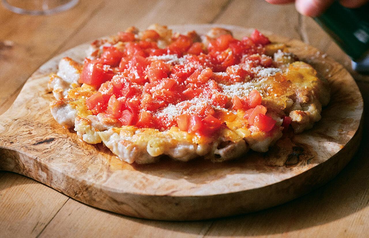 「ピザ風チキンのチーズ焼き」レシピ/きじまりゅうたさん
