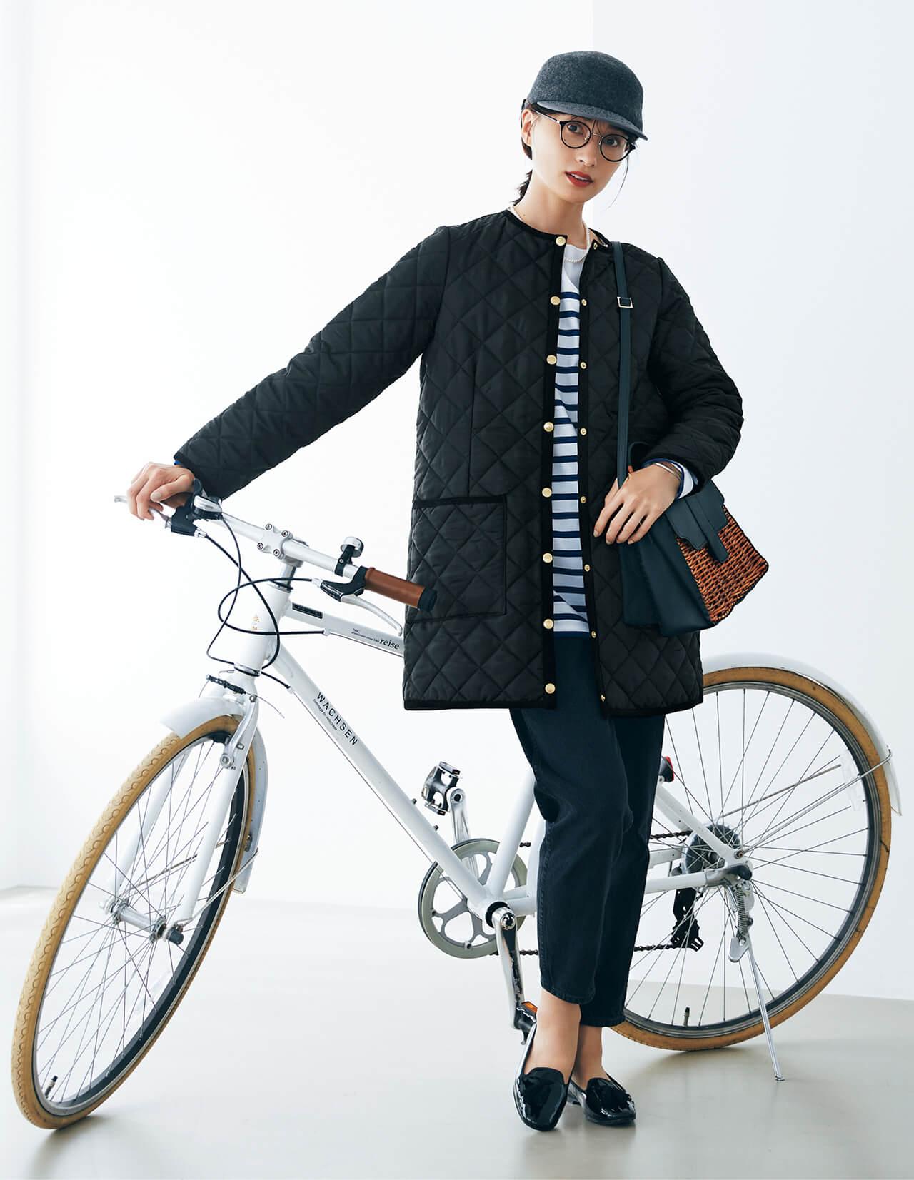 Traditional Weatherwear トラディショナル ウェザーウェア 【LEE別注】アークリー 81㎝丈