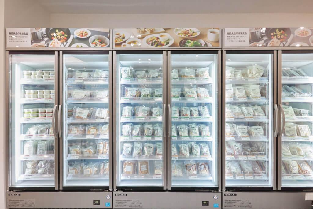 冷凍食品は全商品そろっているそう! 私はこれまで冷凍食品はネット通販で購入していましたが、今後は仕事帰りに新宿店に寄って買えるからありがたいです。