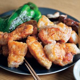 厚切り肉をサクッと仕上げる「豚の竜田焼肉」レシピ/きじまりゅうたさん