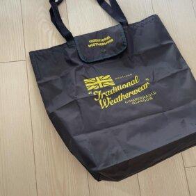 写真:「トラディショナル ウェザーウェア」のエコバッグ