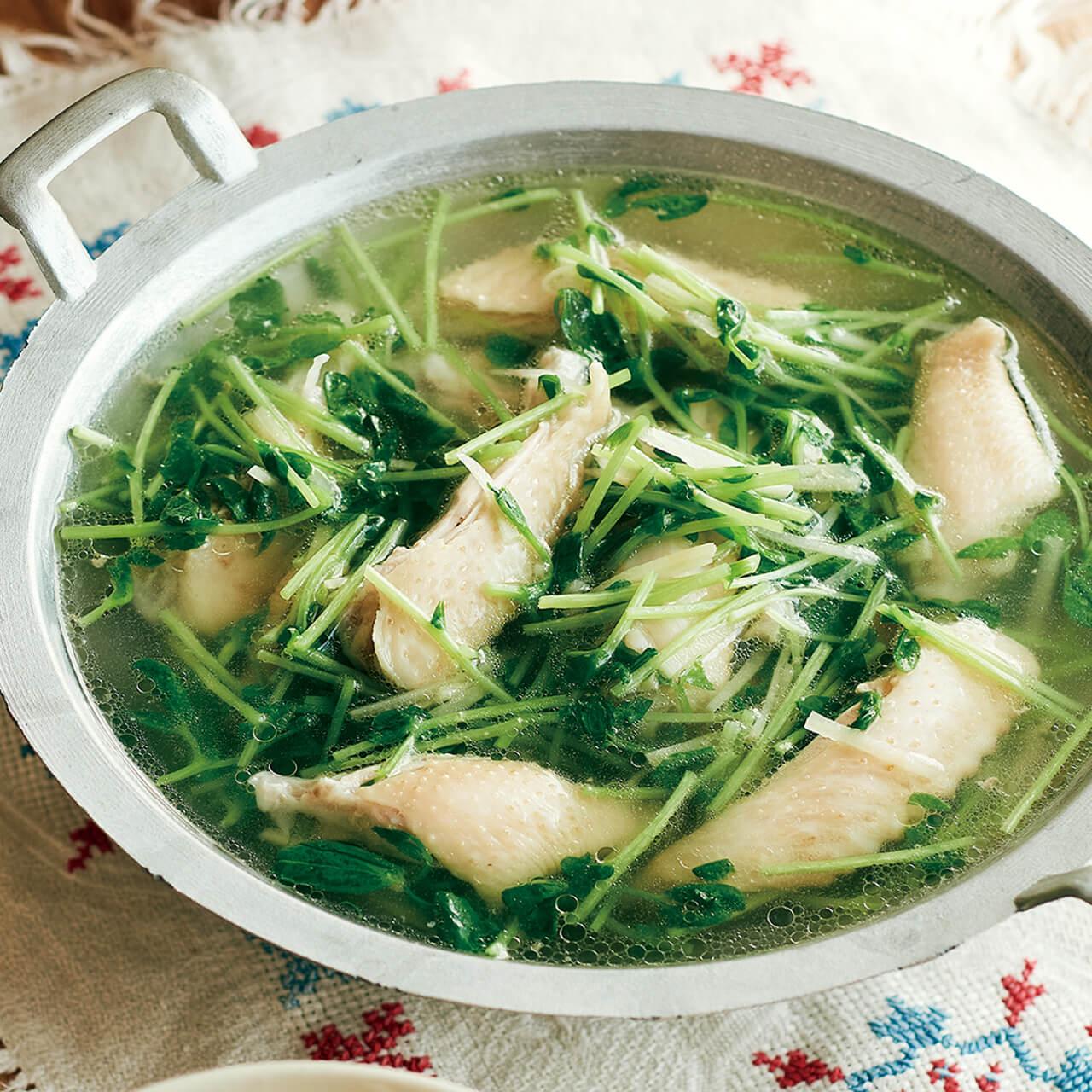 「鶏スペアリブのしょうがスープ」レシピ/小林まさみさん
