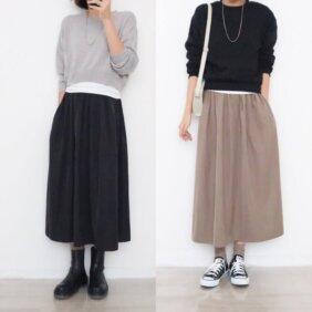 【ユニクロでイロチ買い!】2人が買った秋ボトム拝見!【2021パンツ&スカート】