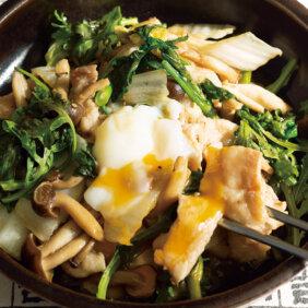 「野菜たっぷり豚すき焼き」レシピ/コウケンテツさん