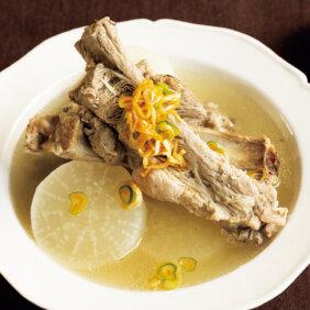 「スペアリブと大根のスープ」レシピ/コウケンテツさん