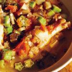 「トマト、なす、オクラのガンボスープ」レシピ/小林まさみさん