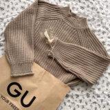 話題のGUアイテム「チャンキーニットハイネックセーター」を購入!コーデ3種類をご紹介♪【2021】