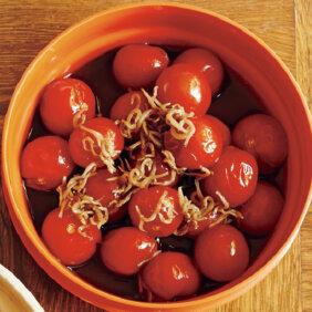 「ミニトマトのポン酢漬け」レシピ/小林まさみさん