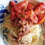 「トマトと生ハムのマリネ麺」レシピ/ワタナベマキさん